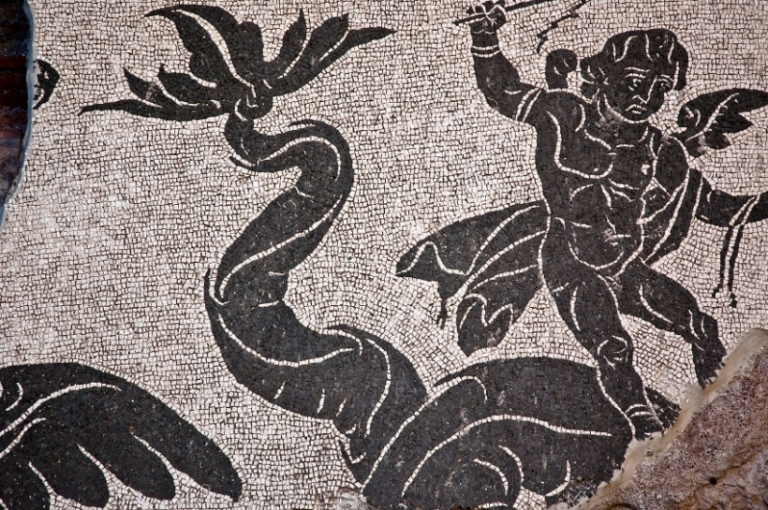 Art history schools in Italy, Famous Roman Mosaics, Enrich Your Art History Degree Piece by Piece, jcu art history, study art history in Rom, Rome baths of Caracalla