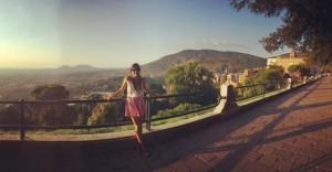 study abroad student in Tivoli, jcu student trips, traveling as a study abroad student, jcu Student Spotlight, Natalia McCullough, Study Abroad Fall 2015,