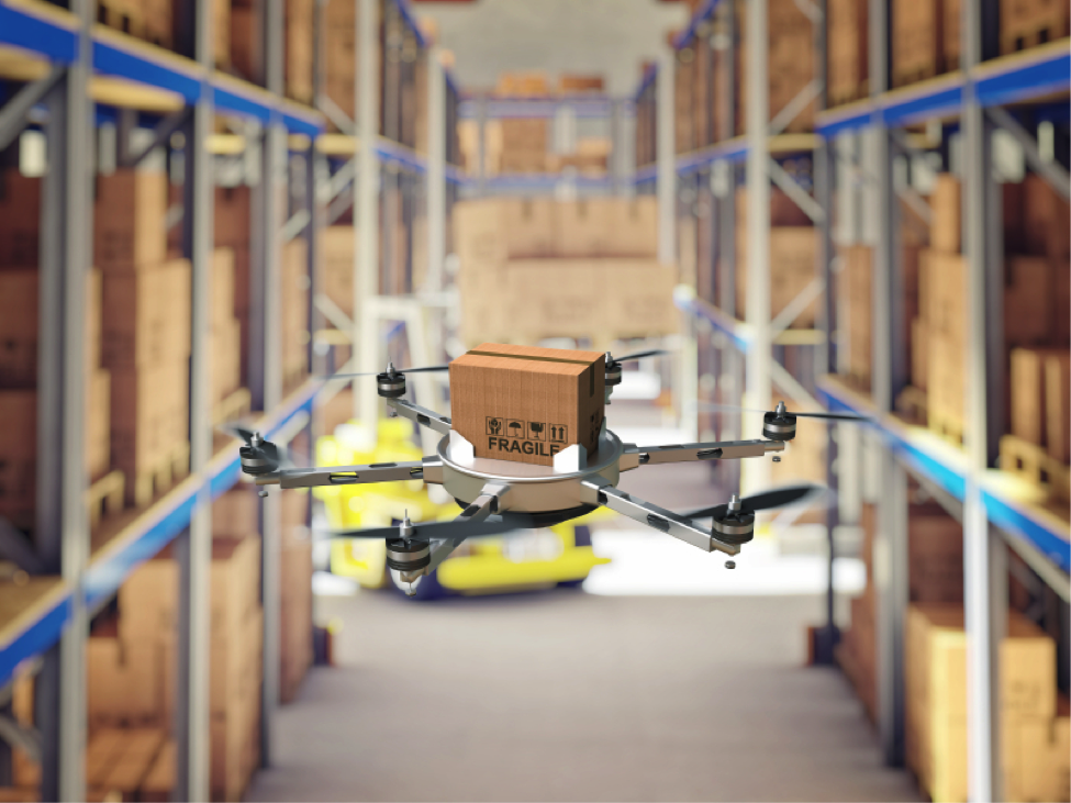 Warehouses of the future will be almost completely automated
