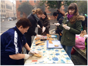 La Ronda, La Ronda della Solidarietà, trastevere, community service program, john cabot students volunteering, rome, international students in rome