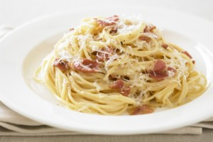 carbonara, fried artichoke, eating in Rome, 5 Dishes You Must Try During Your Stay in Rome, study abroad in Rome, jcu student life