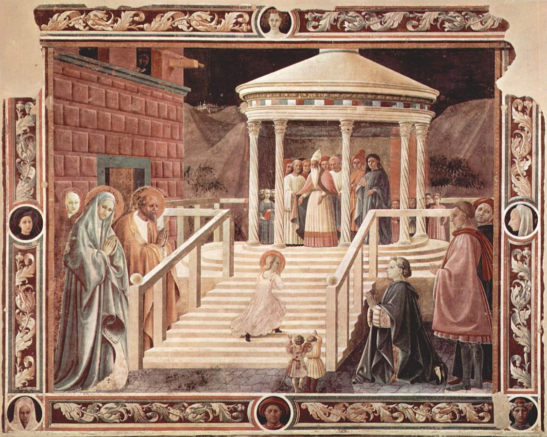"""Paolo Uccello's """"Presentation of the Virgin"""", art history, Italian studies, studying in italy, Completing Your Italian Studies in Italy, Here are 3 Factors that Helped Create the Italian Renaissance"""