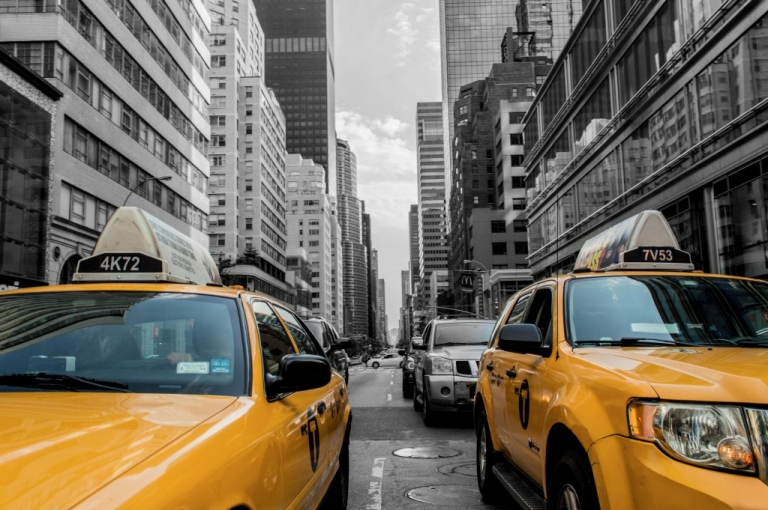 yellow cabs in new york, Why I Decided to Transfer to John Cabot University, transfer students, study in italy, study abroad, reaons to study abroad