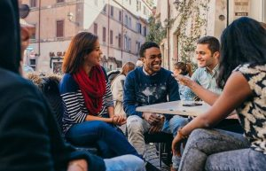 john cabot university, study abroad in Rome, first week back at school, settimiano caffe