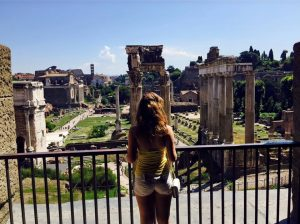tourists in Rome, jcu student spotlight, international students in Rome, john cabot university, studying abroad in Rome, british students in Rome, roman forum