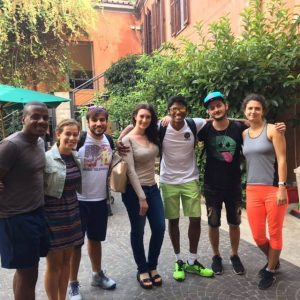 jcu student spotlight, international students in Rome,
