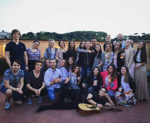 jcu students, jcu student spotlight, john cabot university, study abroad students in Rome