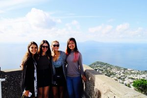 John Cabot University Cultural Activities, study abroad weekend trips, campania, study abroad in italy, student weekend trips
