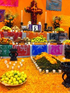 mexican students at jcu, studying abroad in Rome, day of the dead, diversity at jcu, mexico,