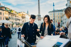 Dominique von Rohr, jcu student spotlight, international students in rome, studying abroad in Rome, political science majors jcu