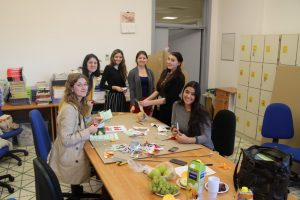 JCU Community Service Day, community service in Rome, john cabot university, student volonteers