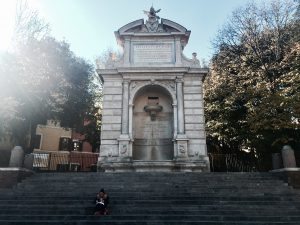 things to do in Rome, studying abroad in Rome, Gianicolo hill, best places for students in trastevere, rome, piazza trilussa