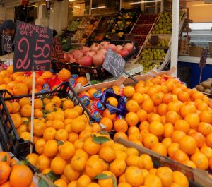 open air market in Rome, study abroad in Rome, John cabot university, JCU student spotlight,