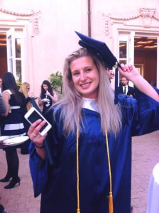 Russian students in Rome, JCU russian students, John Cabot University, graduation