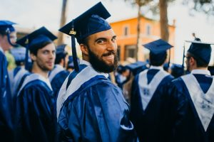 john cabot university, JCU alumni, graduation, study abroad in Rome, university students, student focus JCU, degree seeking students, international business students