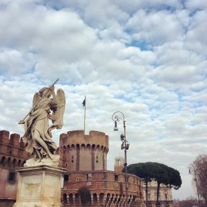 Castel Sant'Angelo, piazza Cavour, studying abroad in Rome, discover Rome, prati, sightseeing in Rome
