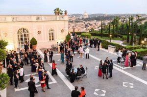 Villa Miani, John Cabot University gala dinner, graduation ceremonies, study abroad JCU