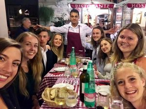 study abroad, living in Rome, John Cabot University, study abroad student stories