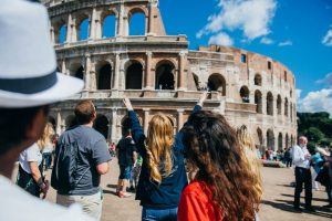 transfering to a new university, study abroad, colosseum, Rome, studying in Rome