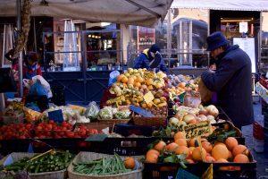 3 Farmers' Markets in Rome, Campo de fiori, study abroad in Rome, open-air market, American university in Italy, piazza di san cosimato