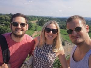 JCU Alumni: Lazar, Alexa, and Filip
