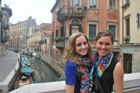 Students at JCU can explore historic Venice during their time studying abroad
