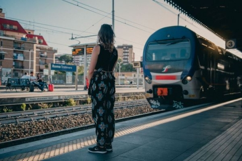 Your ticket gives you access to Rome's public transportation from bus to metro and more