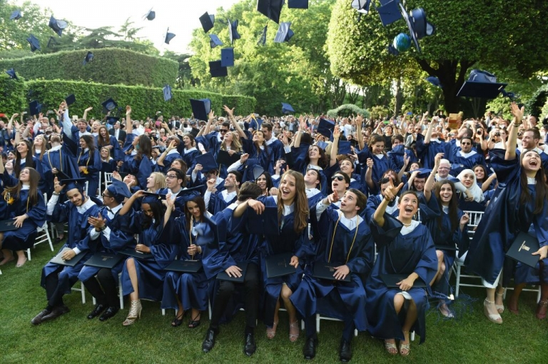 JCU Rome Graduation