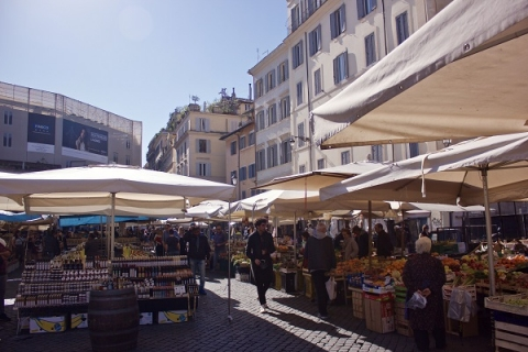 Rome's markets are a great place to get fresh fruit and vegetables