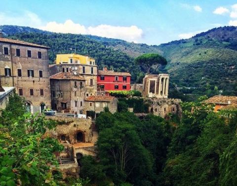 The Lazio region is great for short day trips from Rome
