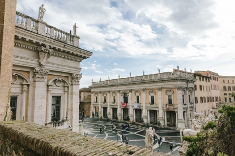 The Capitoline Museums are considered the first public museums in the world