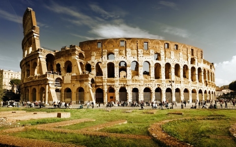 Lighting and angles can make the Colosseum appear different at all times of day
