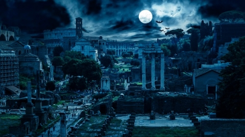 Rome has plenty of spooky attractions and Halloween festivities—you just have to know where to look!