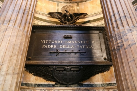 The Pantheon is home to the tombs of several famous Italian figures