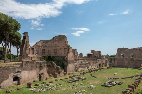 Only certain parts of the stadium remain intact today after its final games were held in 549 AD