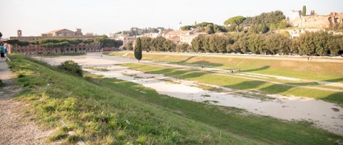 Nowadays, the Circus Maximus is known as a public park and popular walking spot