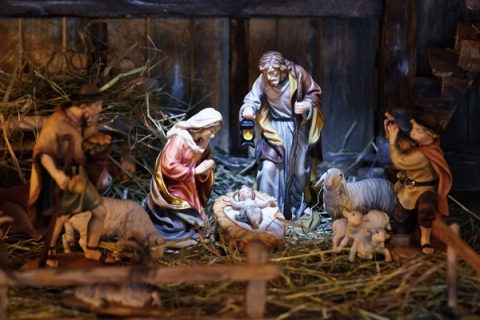 Nativity scenes, known as presepi, are very popular in Italy during Christmas