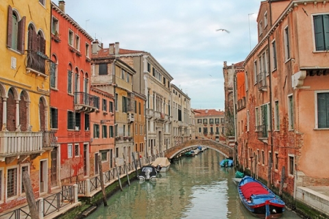 Enjoy the beautiful canals of Venice during the quieter winter months